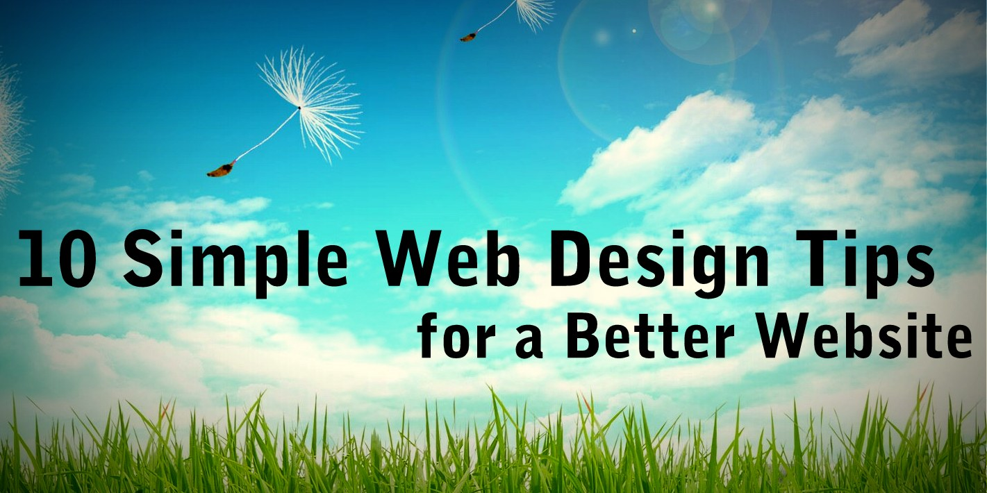 simple-web-design-tips, web design tips