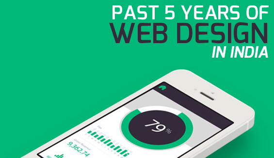 Past 5 Years of Web Design in India