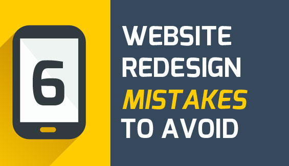 website redesign mistakes to avoid