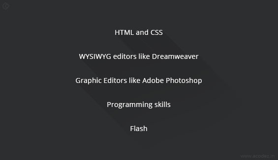 Web Design: Tools and Technologies