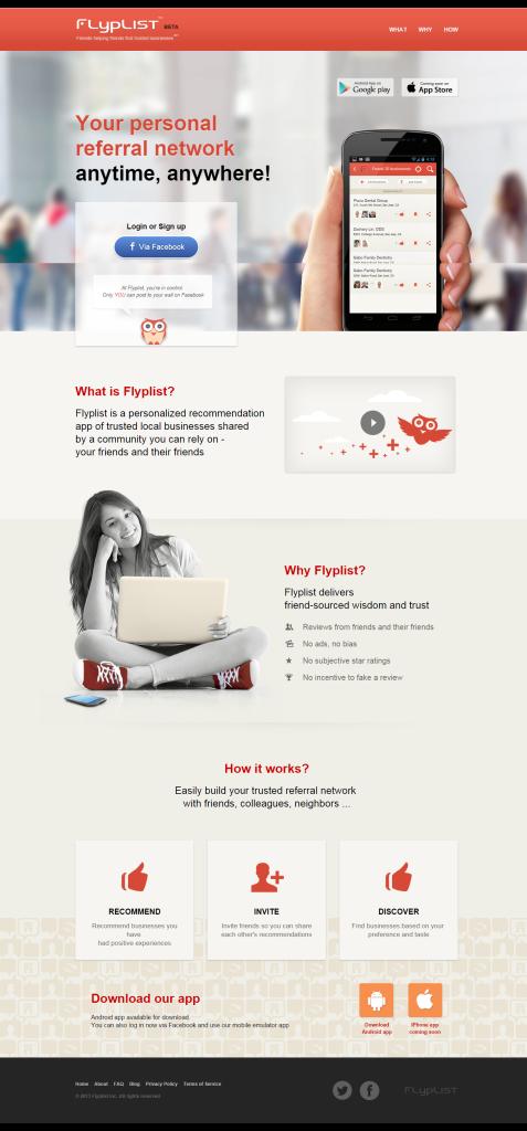 Flyplist UX Design by Acodez