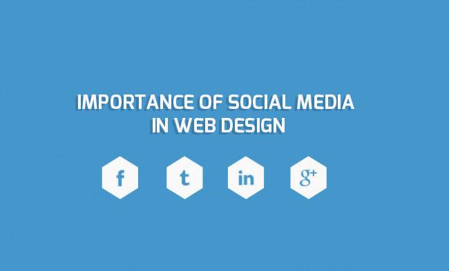 Importance of Social Media in Web design