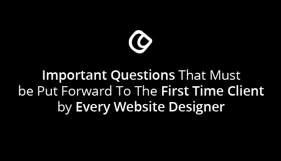 Important Questions That Must Be Put Forward To The First Time Client By Every Website Designer