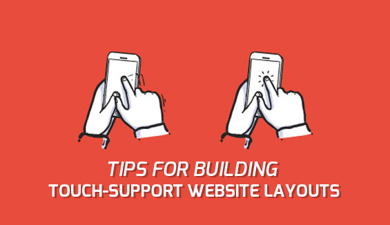 guidelines for touch supported website layout