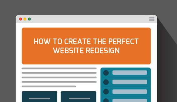 how to create the perfect website redesign