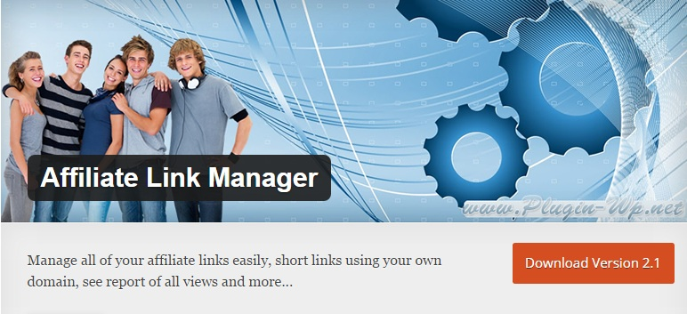 Download Install Affiliate Link Manager WordPress Plugin