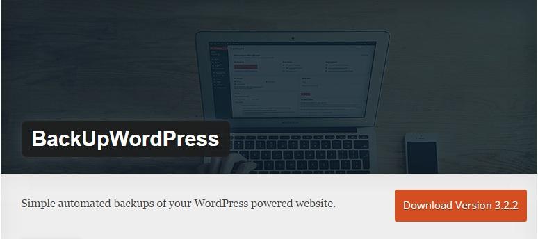 Download Install BackUpWordPress Plugin