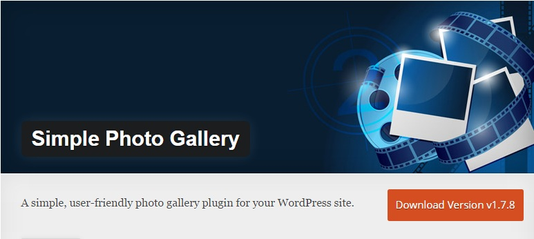 Download Install Simple Photo Gallery Plugin