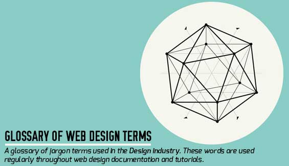 essential glossary of web design terms