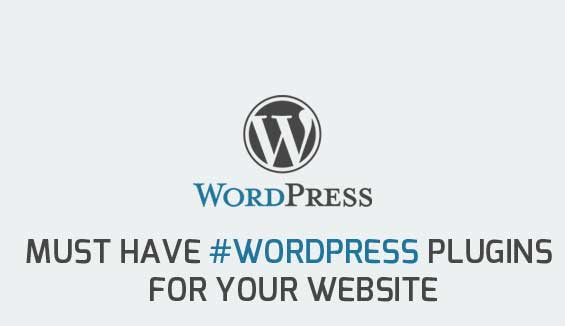 Must have WordPress plugins for your website.