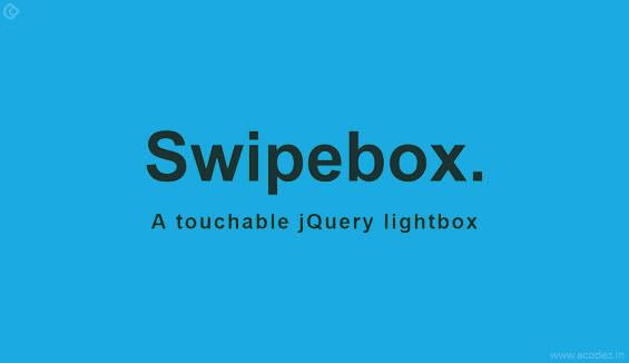 Swipe Box Library