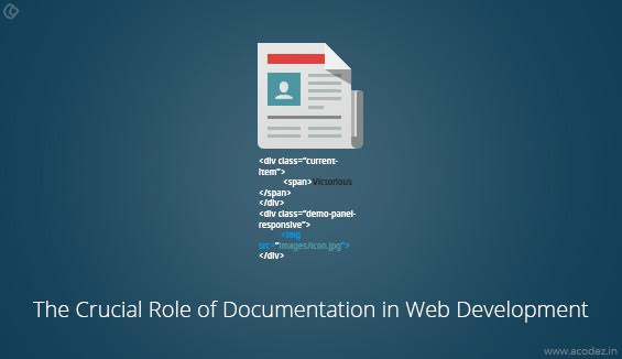 The Crucial Role of Documentation in Web Development