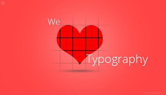 Typographic Tools that Works Well