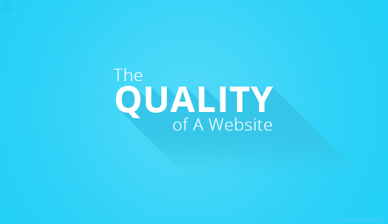 Important Parameters To Consider For Evaluating The Quality Of A Website