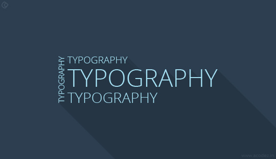 Well-organized Content Complemented by Typography