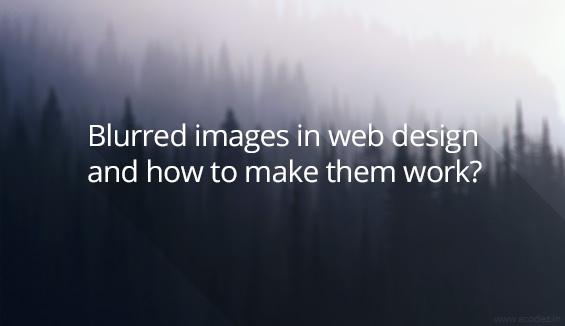 blurred images for websites