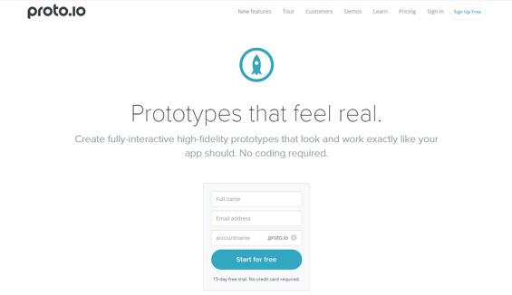 UI Design Tool - Proto
