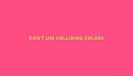 Don't-use-colliding-colors