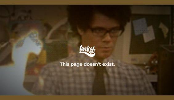 Larkef - 404 error page