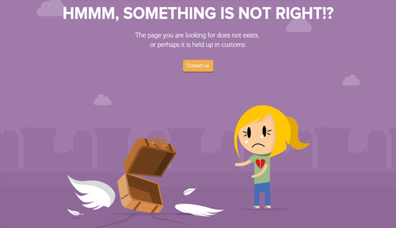 TinyCarrier - 404 error page
