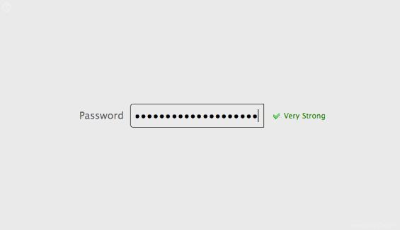 Choosing Passwords