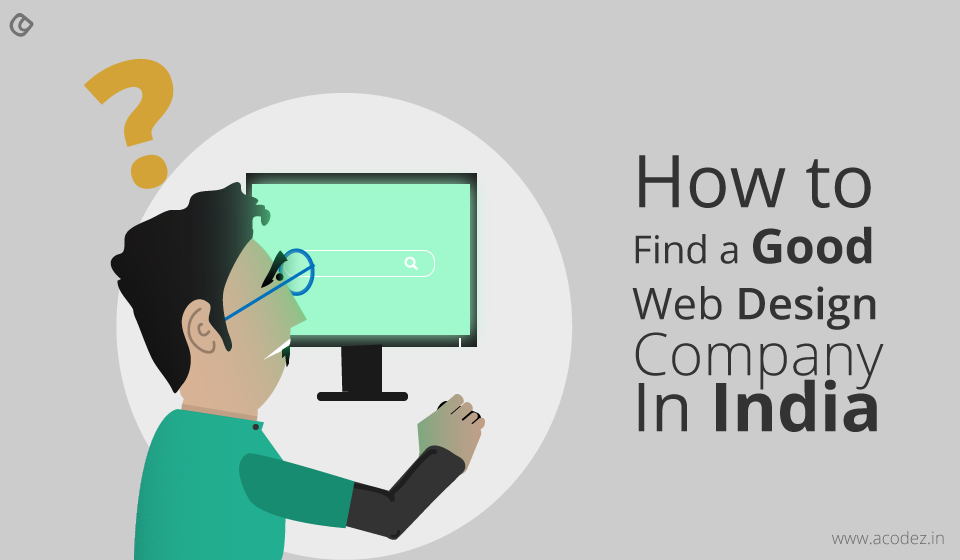 How to find the best web design company in India
