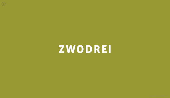 Zwodrei - Free Fonts for Professional Web Design