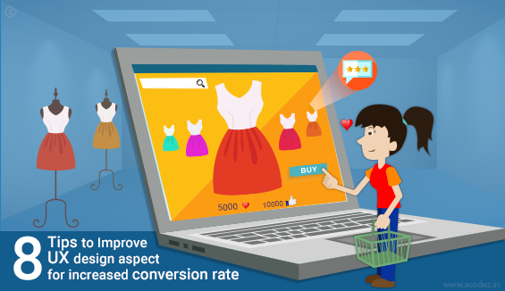 8 UX Design Tips For Improving Website Conversion Rates