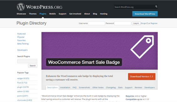 WooCommerce Smart Sales Badge