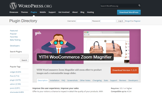 YITh Commerce Zoom Magnifier