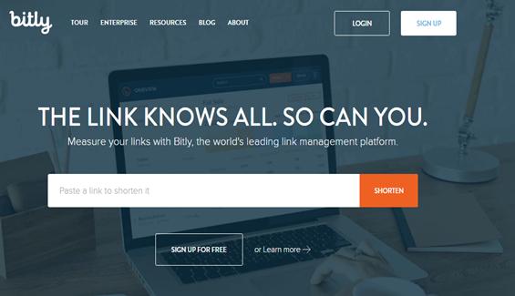 Bitly Tool For URL Shortening