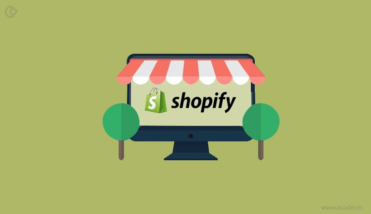 Shopify - ecommerce web development