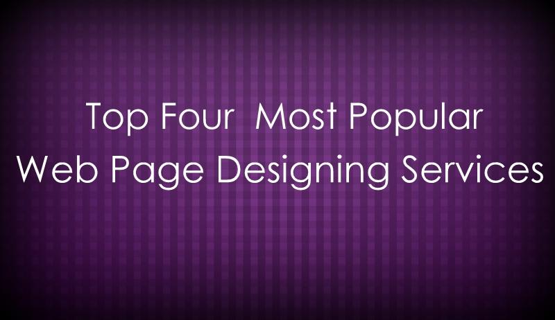 Web Page Designing Services, Popular Web Design Technologiesweb page designing, web design services