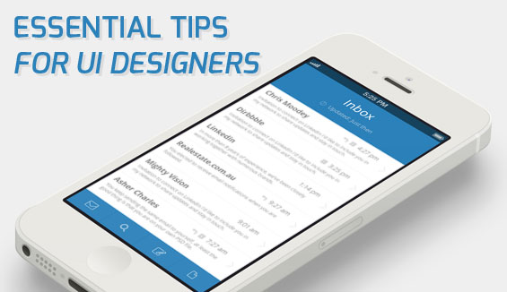 Tips for UI Designers