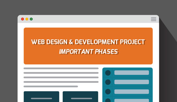 Important Phases in a Web Site Design & Development Project