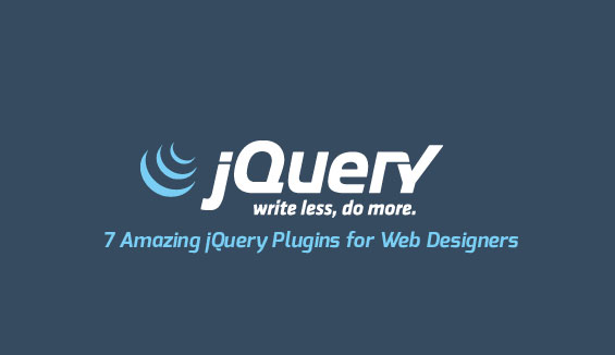 7 Amazing jQuery Plugins for Web Designers
