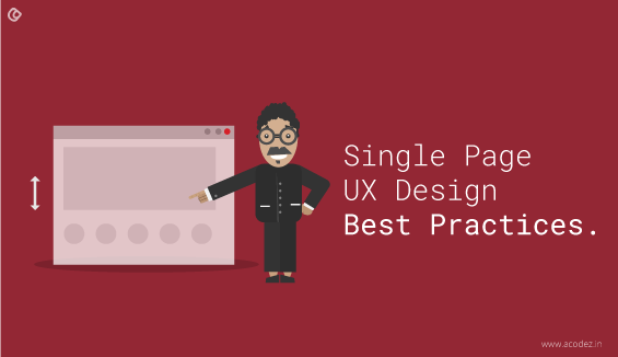 Best Practices for One Page UX Design