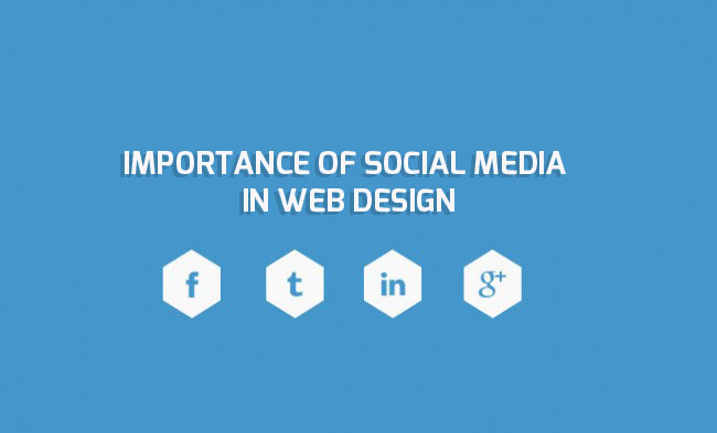 Importance of Social Media in Web design