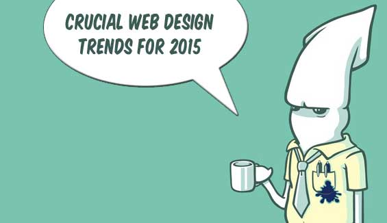 crucial web design trends for 2015