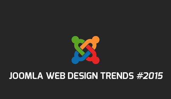 joomla web design trends 2015