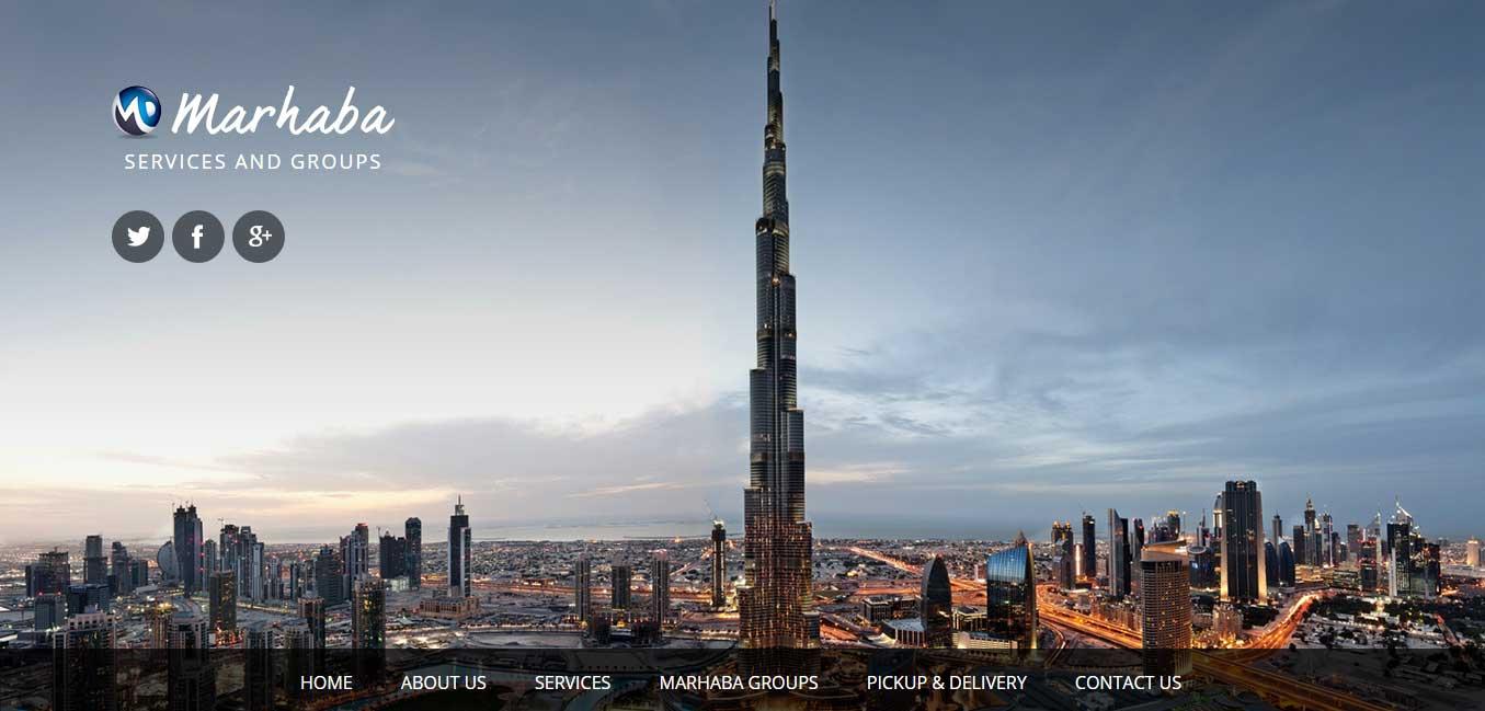 Marhaba Website by Acodez