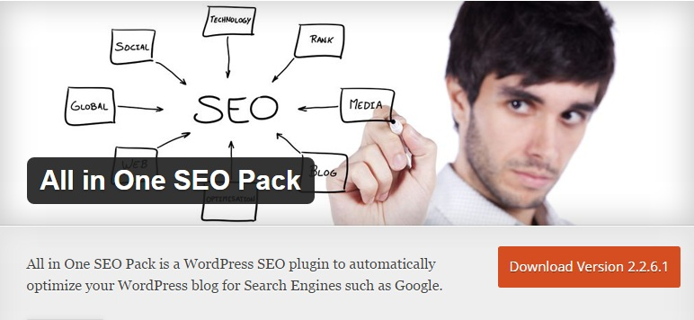 Download Install All in One SEO Pack WordPress Plugin