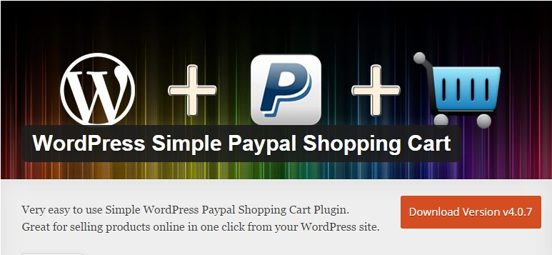 Download Install WordPress Simple Paypal Shopping Cart Plugin