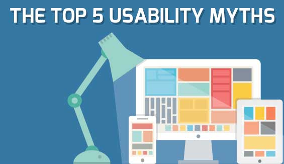 The Top 5 Usability Myths