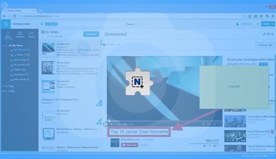 Nimbus Screen Shot Chrome Extension