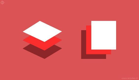 Principles of Google's Material Design - Material is the Metaphor