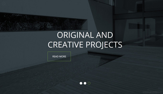 Ghost Buttons for Creative Studio Websites