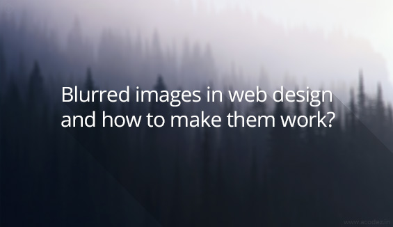 blurred images for websites