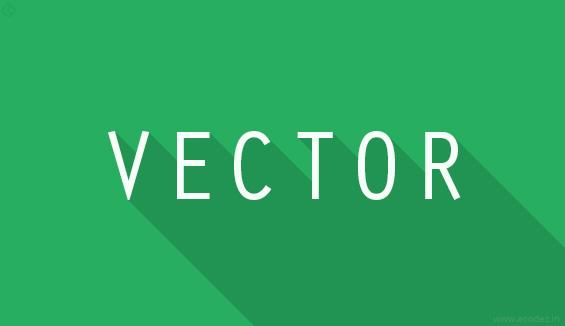 Vector format works