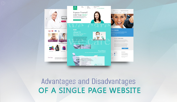 Single Page Website: Advantages and Disadvantages